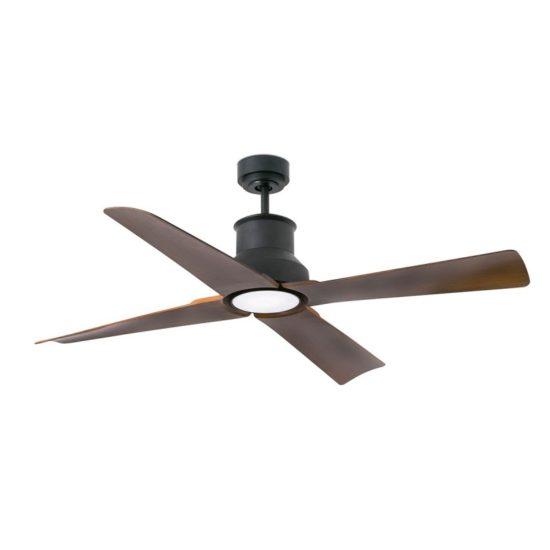 WINCHE Brown Ceiling Fan With DC Motor - 33481UL