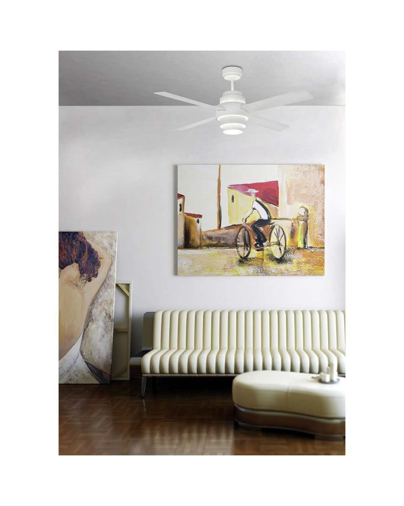 images2|DISC FAN LED White Ceiling Fan With DC Motor - 33397UL