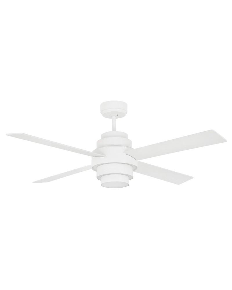 DISC FAN LED White Ceiling Fan With DC Motor - 33397UL