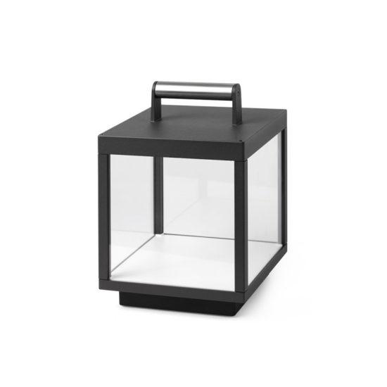 KERALA LED Dark Grey Portable Lamp - 74454
